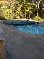 Atlantic Fiberglass Pool in Milano, TX